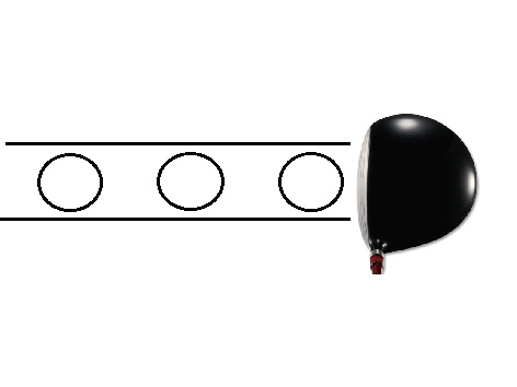 ドライバーでの横風の対応法