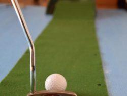 ゴルフ パット練習